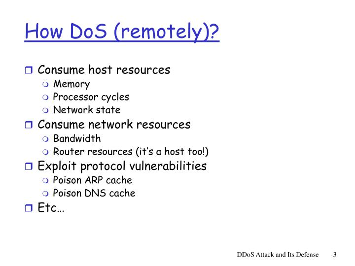How dos remotely