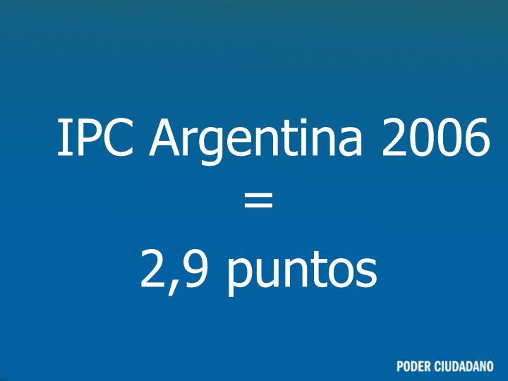 IPC Argentina 2006