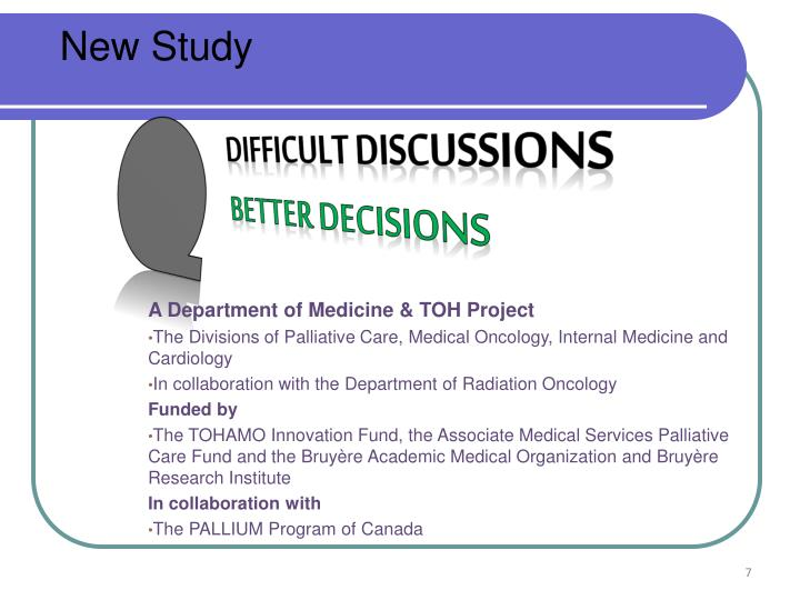 A Department of Medicine & TOH Project