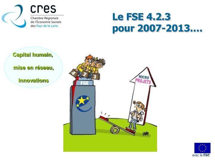 Le FSE 4.2.3