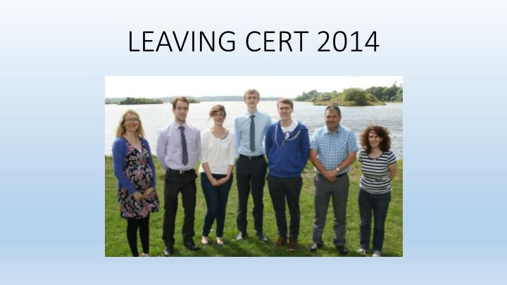 LEAVING CERT 2014
