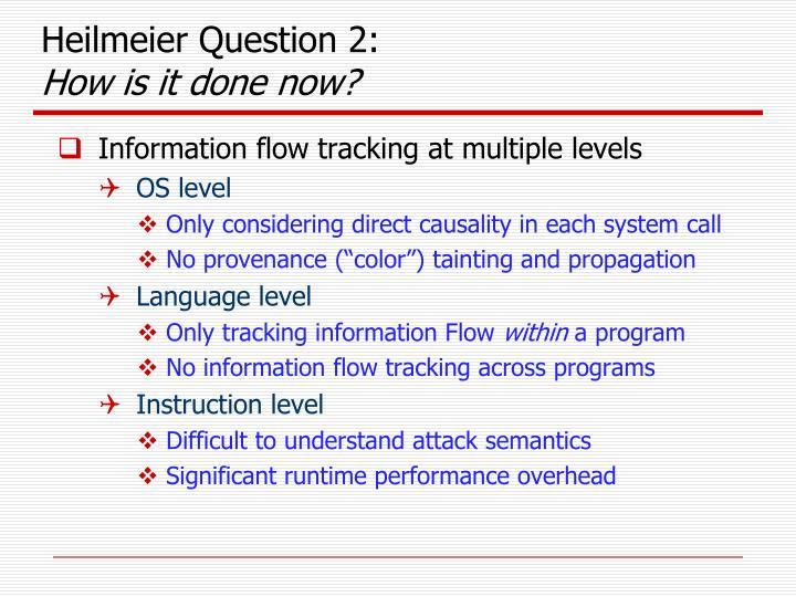 Heilmeier Question 2: