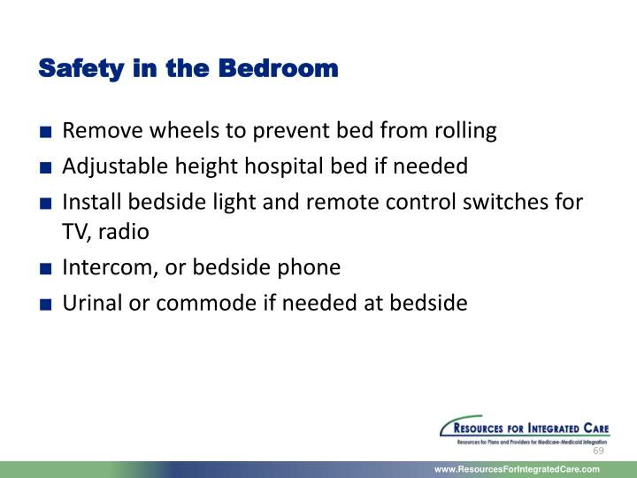Safety in the Bedroom