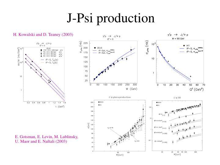 J-Psi production