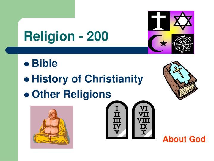Religion - 200