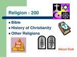 religion 200
