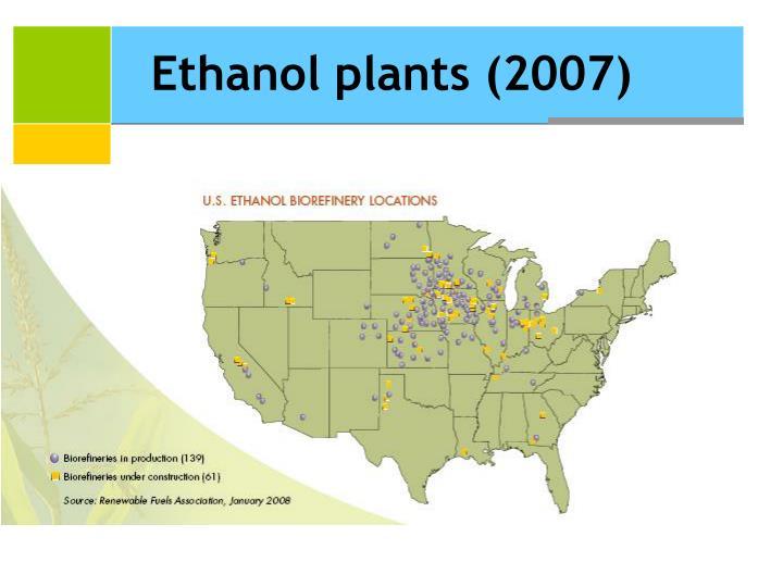 Ethanol plants (2007)