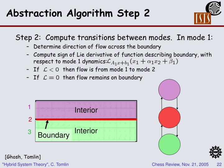 Abstraction Algorithm Step 2