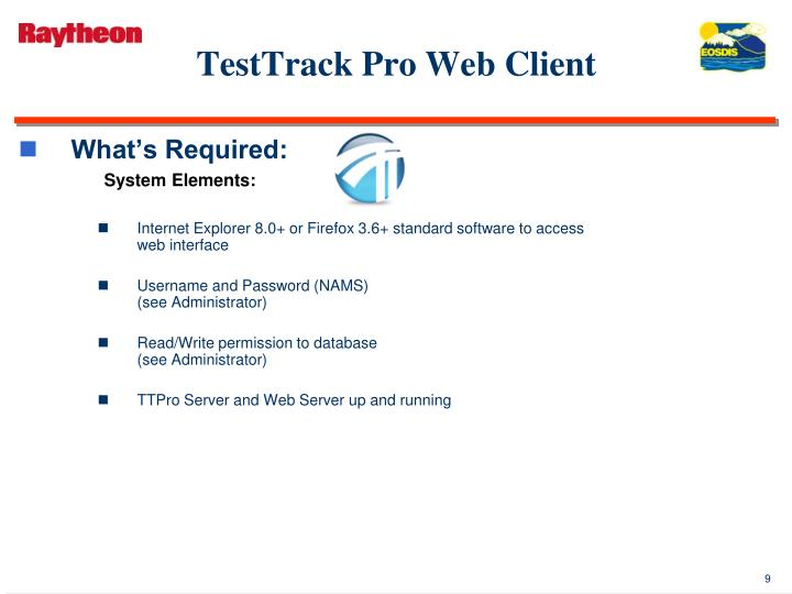 TestTrack Pro Web Client