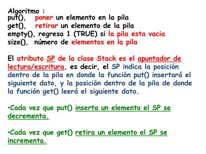 Algoritmo :