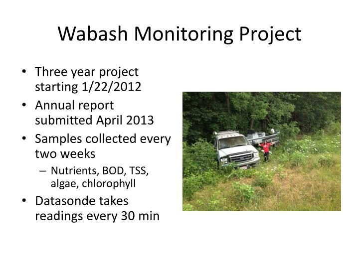 Wabash Monitoring Project