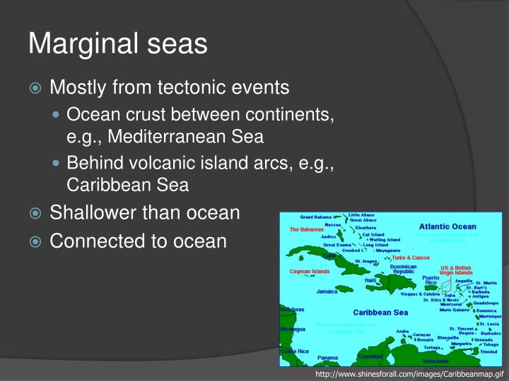 Marginal seas