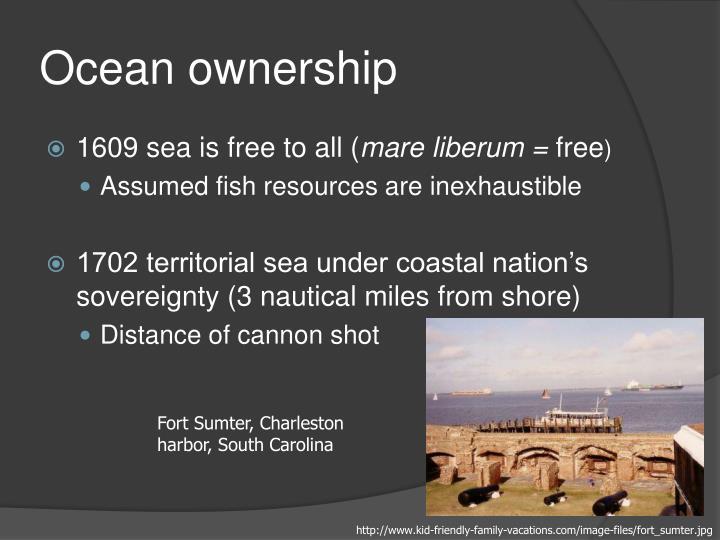 Ocean ownership