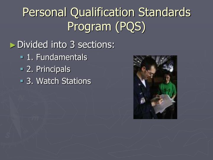 Personal Qualification Standards Program (PQS)