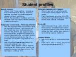 student profiles1