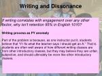 writing and dissonance1
