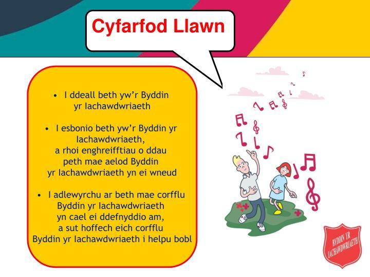 Cyfarfod Llawn
