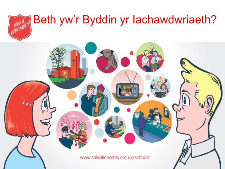 Beth yw'r Byddin yr Iachawdwriaeth?