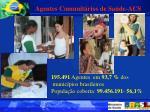 195 491 agentes em 93 7 dos munic pios brasileiros popula o coberta 99 456 191 56 1