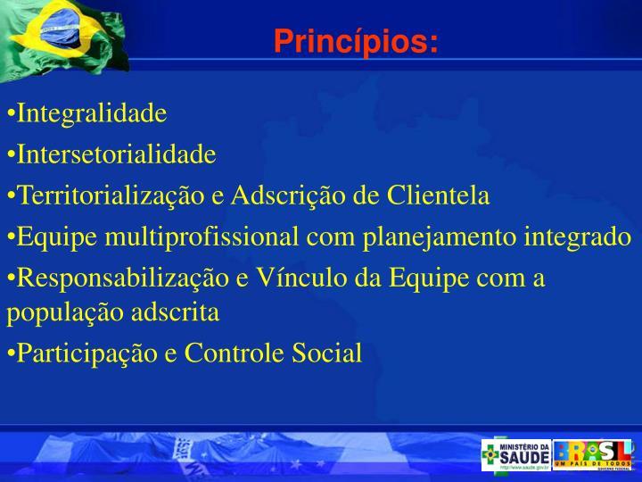 Princpios: