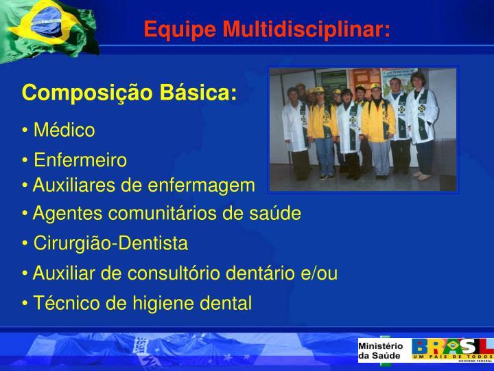Equipe Multidisciplinar: