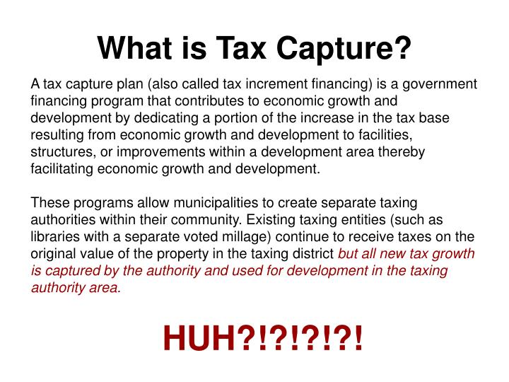 What is Tax Capture?