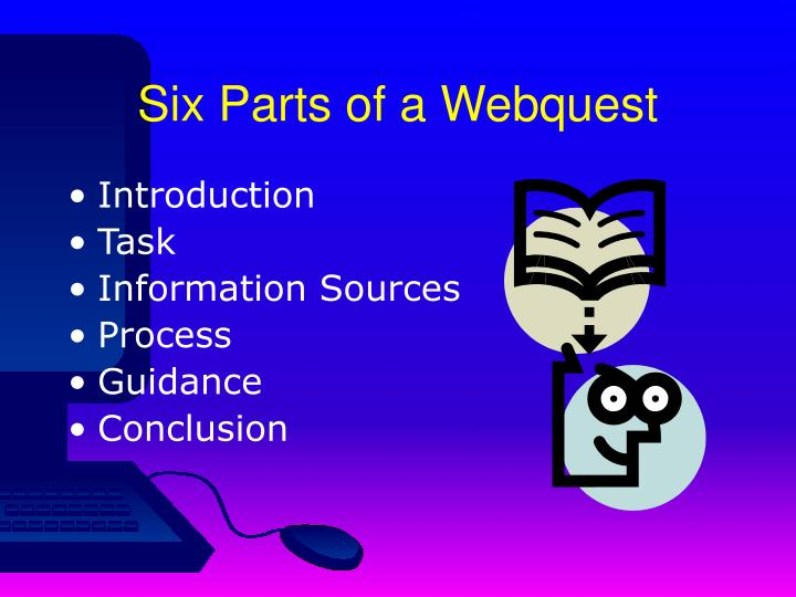 Six Parts of a Webquest