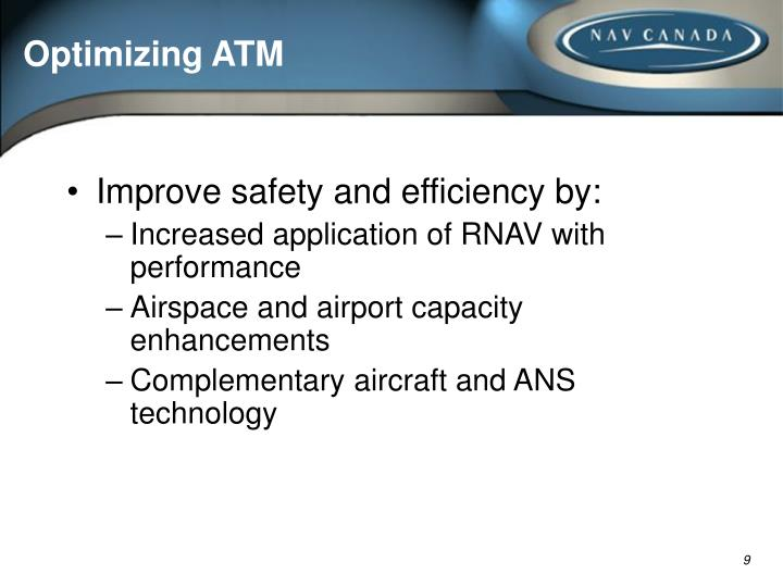 Optimizing ATM