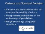 variance and standard deviation1