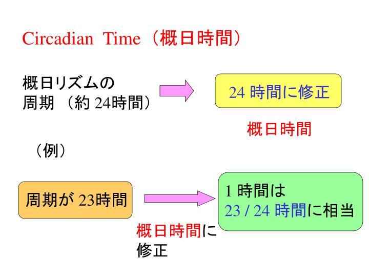 Circadian  Time