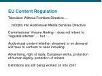 eu content regulation