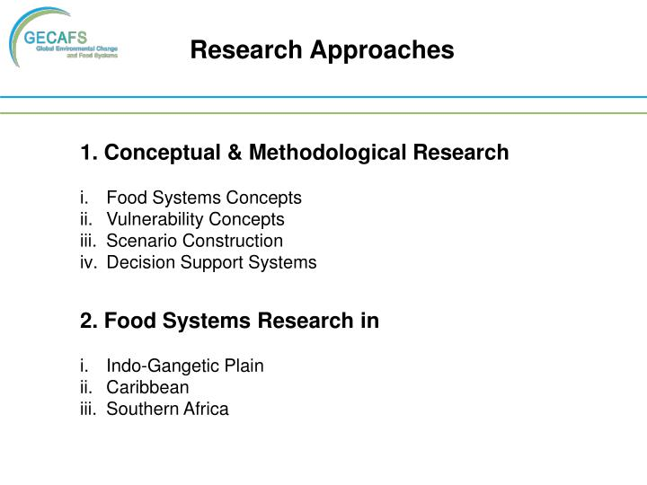 Research Approaches