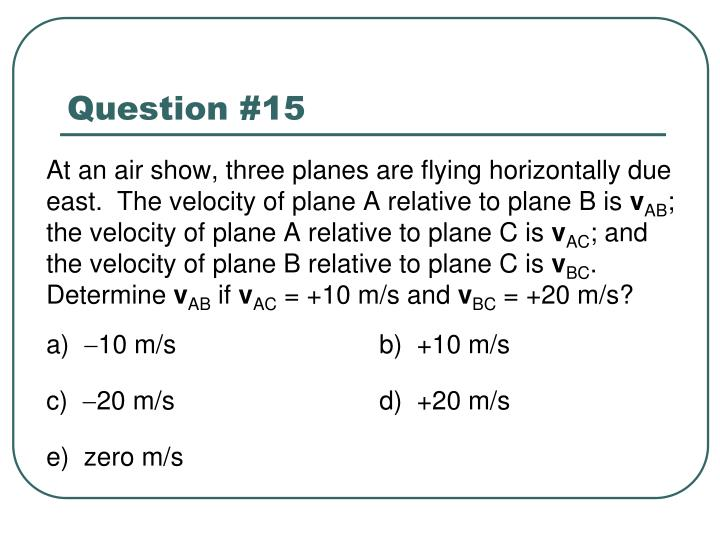 Question #15