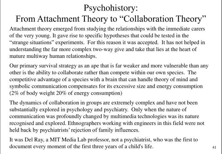 Psychohistory: