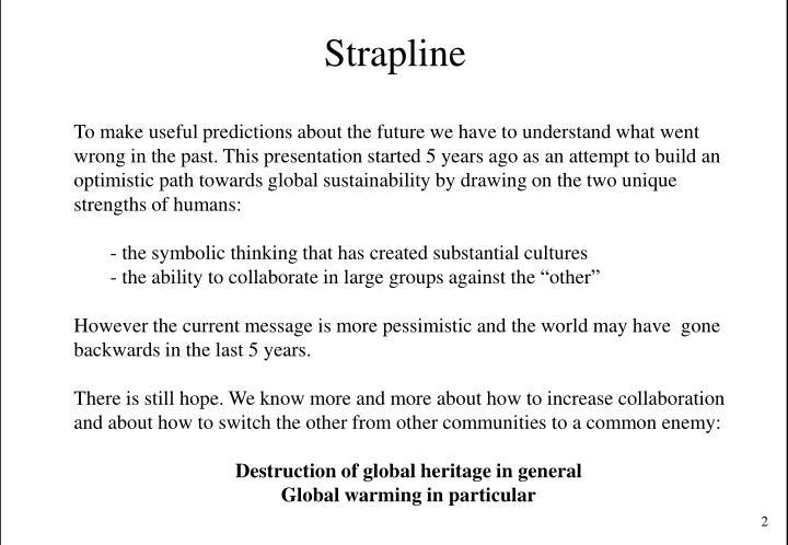 Strapline