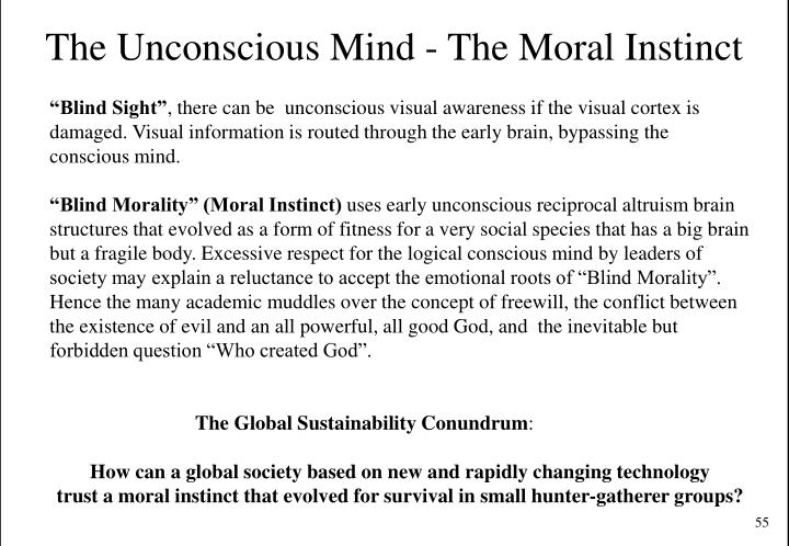 The Unconscious Mind - The Moral Instinct