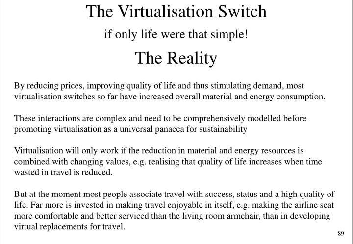 The Virtualisation Switch