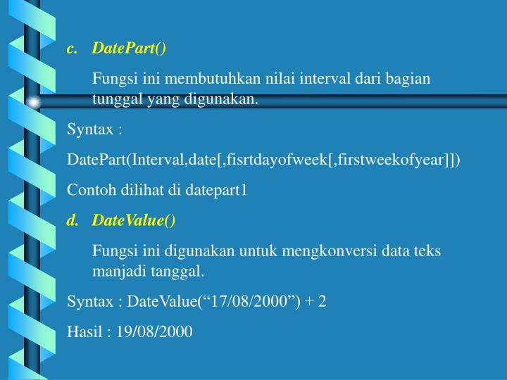 DatePart()