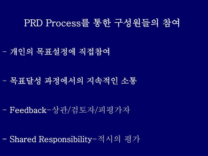 PRD Process