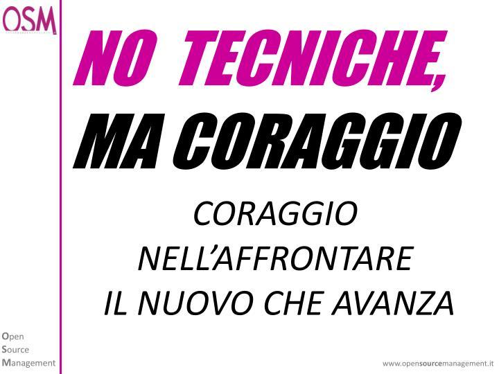 NO  TECNICHE,