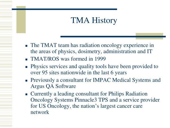 TMA History