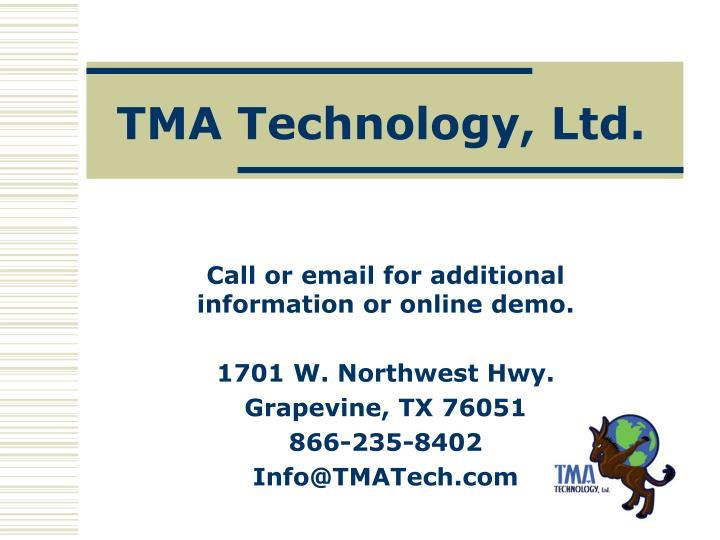 TMA Technology, Ltd.