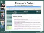 developer s portals