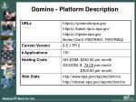 domino platform description