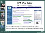 epa web guide