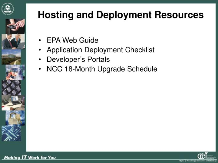 Hosting and Deployment Resources