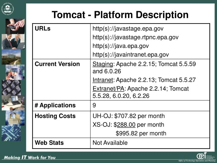 Tomcat - Platform Description