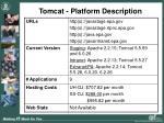 tomcat platform description