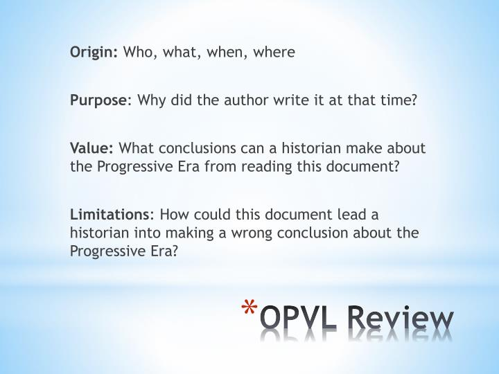 Opvl review