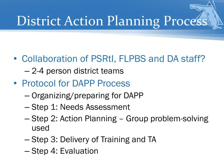 District Action Planning Process